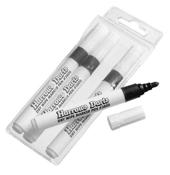 Harrows markery do tablicy suchościeralnej 4szt Spare Dry Wipe Pens