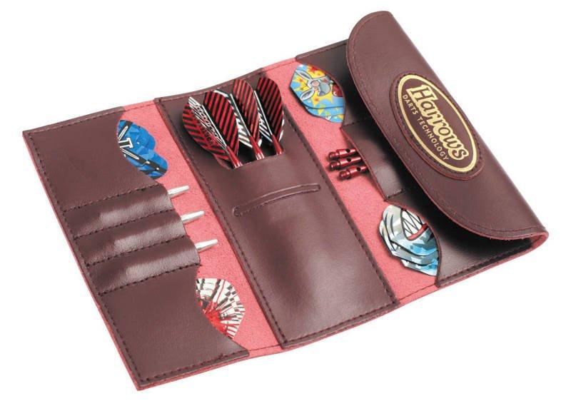 Pokrowiec Harrows 4 Fold Leather Wallet