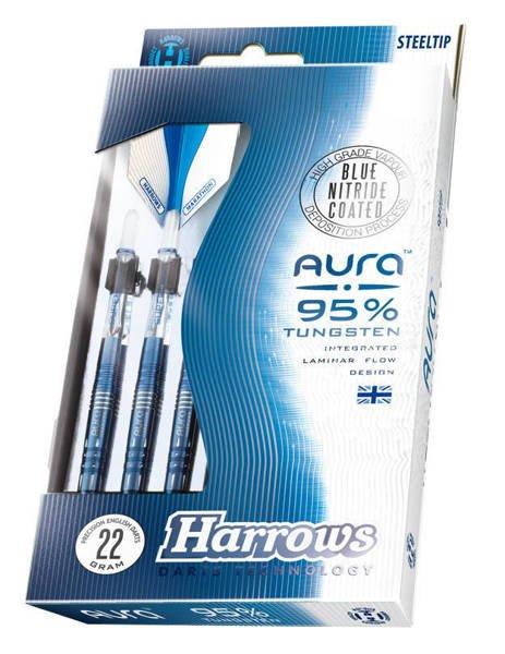 Rzutki Harrows Aura 95% Steeltip