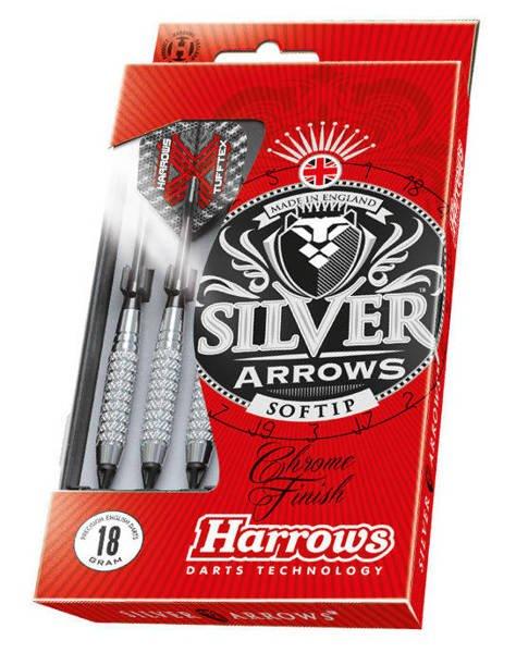 Rzutki Harrows SILVER ARROWS Softip